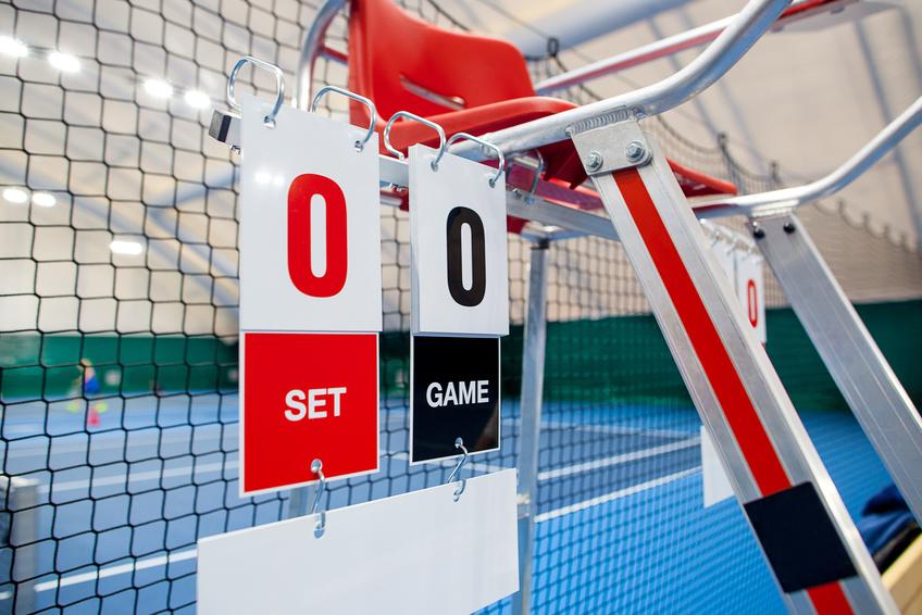 Tennis-Scoreboard